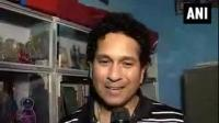 News video: Sachin Tendulkar bats for hygiene among children