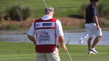 News video: Woods admits concern over back injury