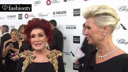 News video: Oscars 2014 EJAF Party ft Kim Kardashian, Lady Gaga, Heidi Klum, Donatella Versace | FashionTV