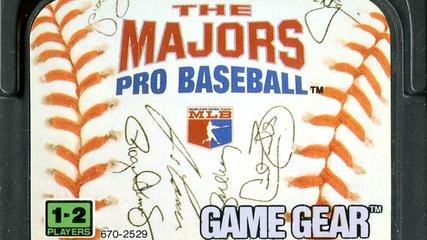 News video: CGR Undertow - THE MAJORS PRO BASEBALL review for Game Gear