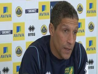 News video: Hughton calls for calm and belief
